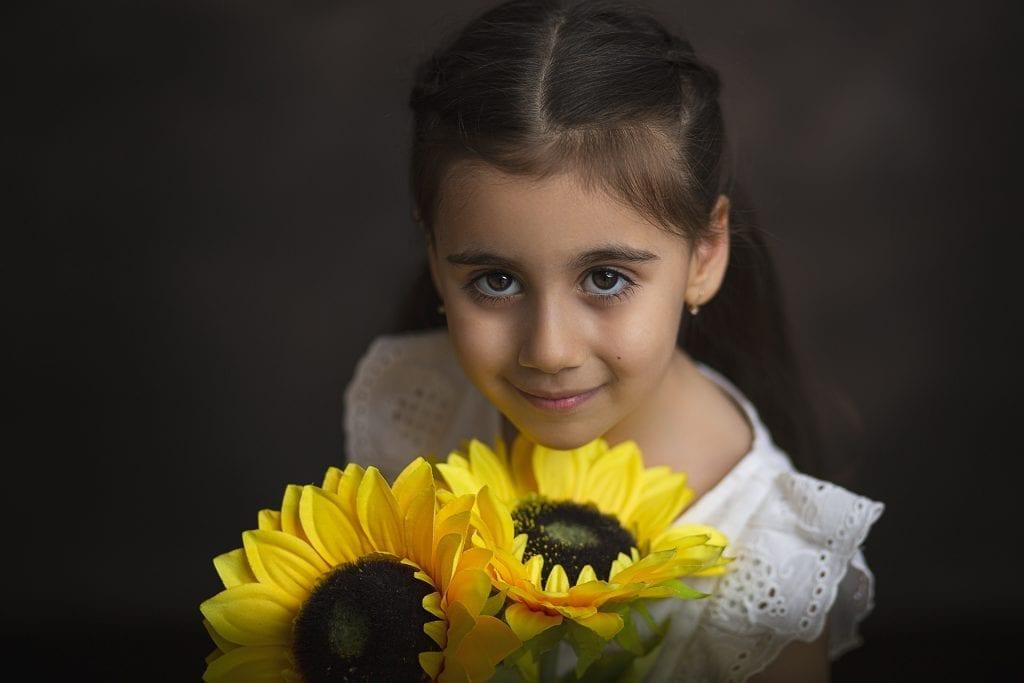 Napraforgós Gyermekfotózás
