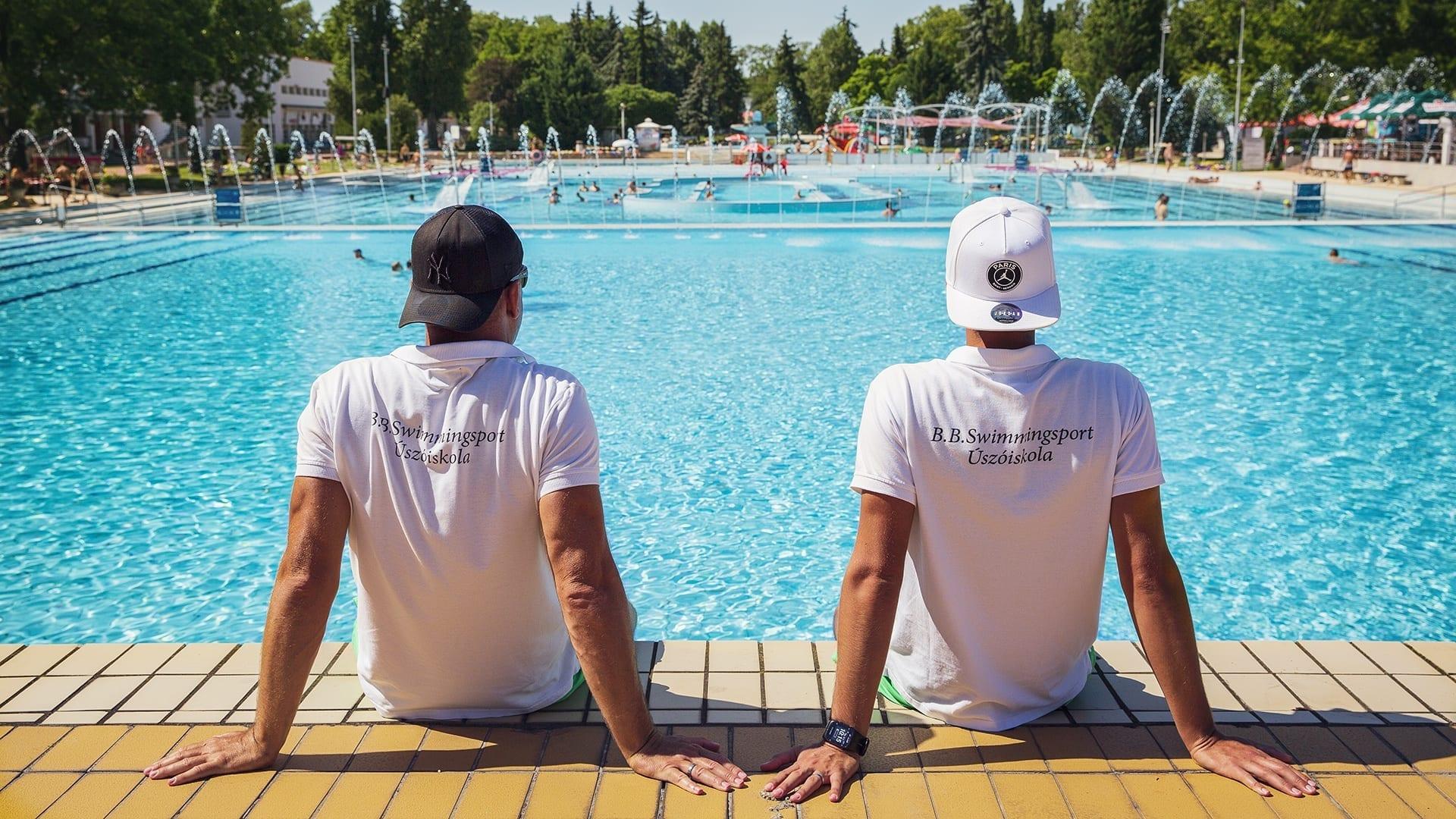 Budapesti úszótábor a B.B. Swimming Sport szervezésében