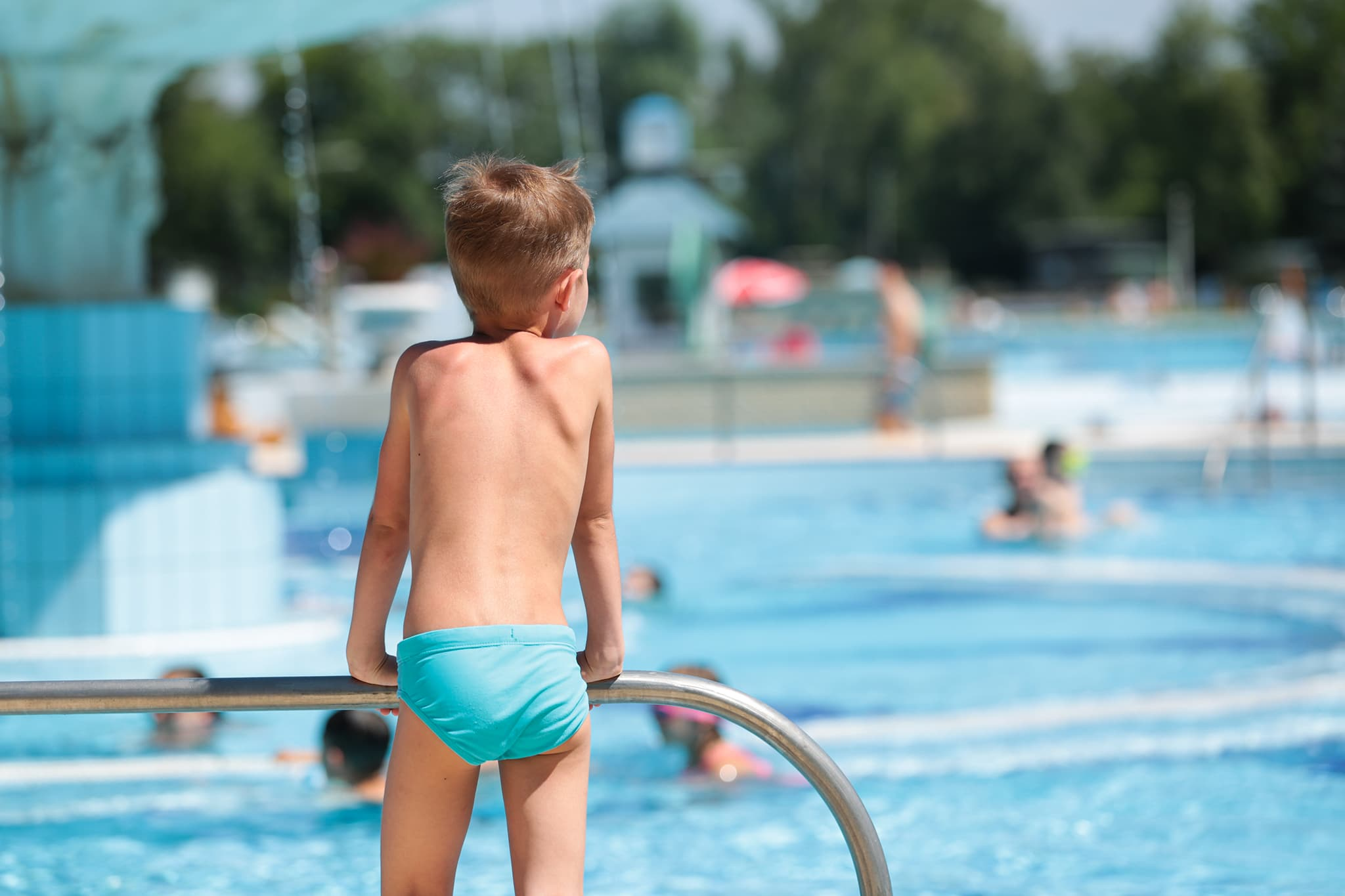 Margitszigeti úszó tábor a Palatinuson a B.B. Swimming Sport szervezésében