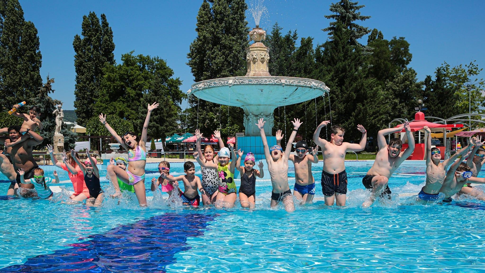 Palatinus úszótábor 2020 nyár B.B. Swimmingsport
