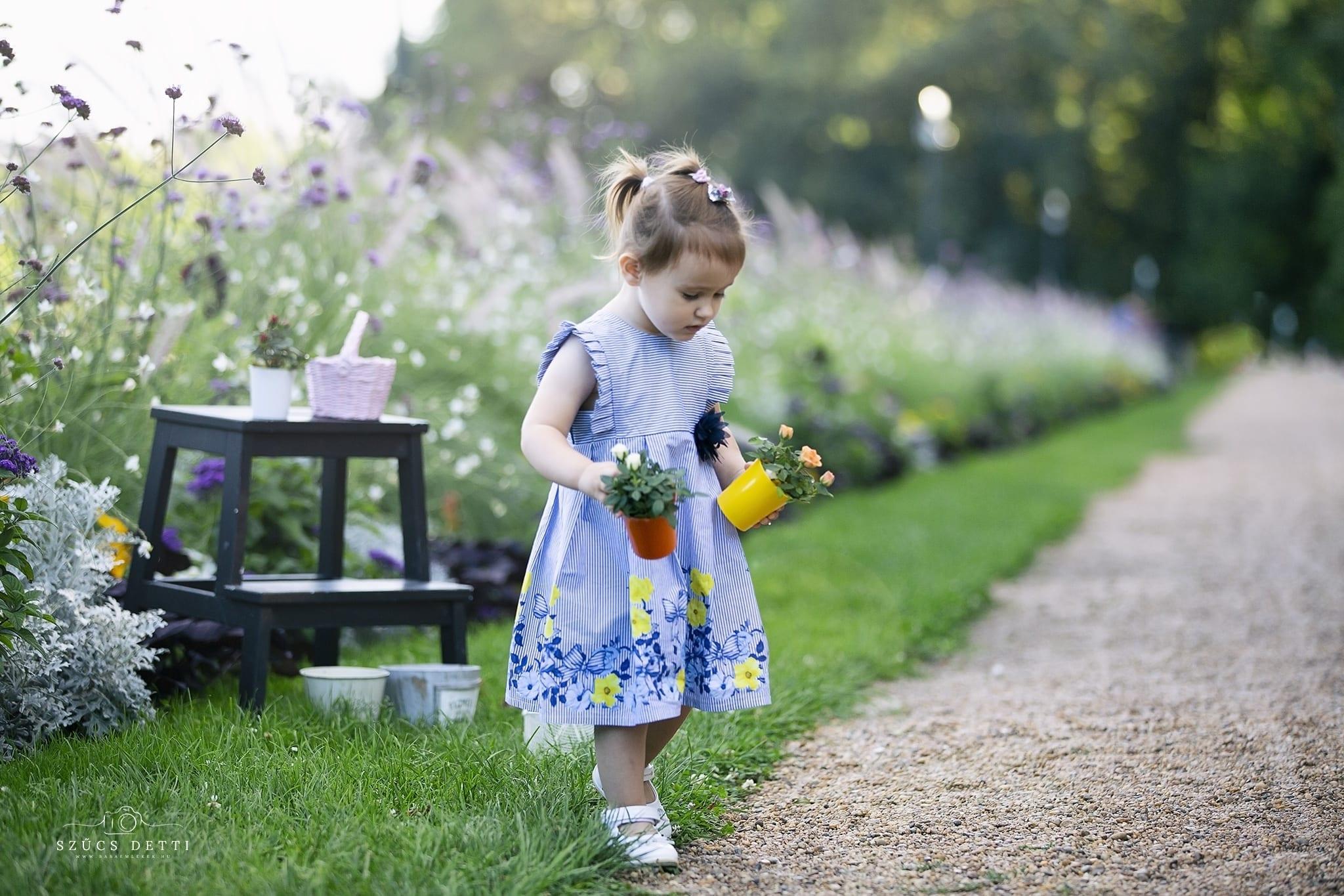 Nyári virágos fotózás a csodálatos Emilyvel