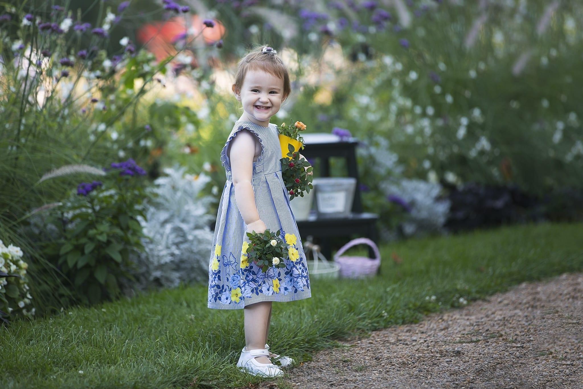 Profi gyermek fotózás kültéren