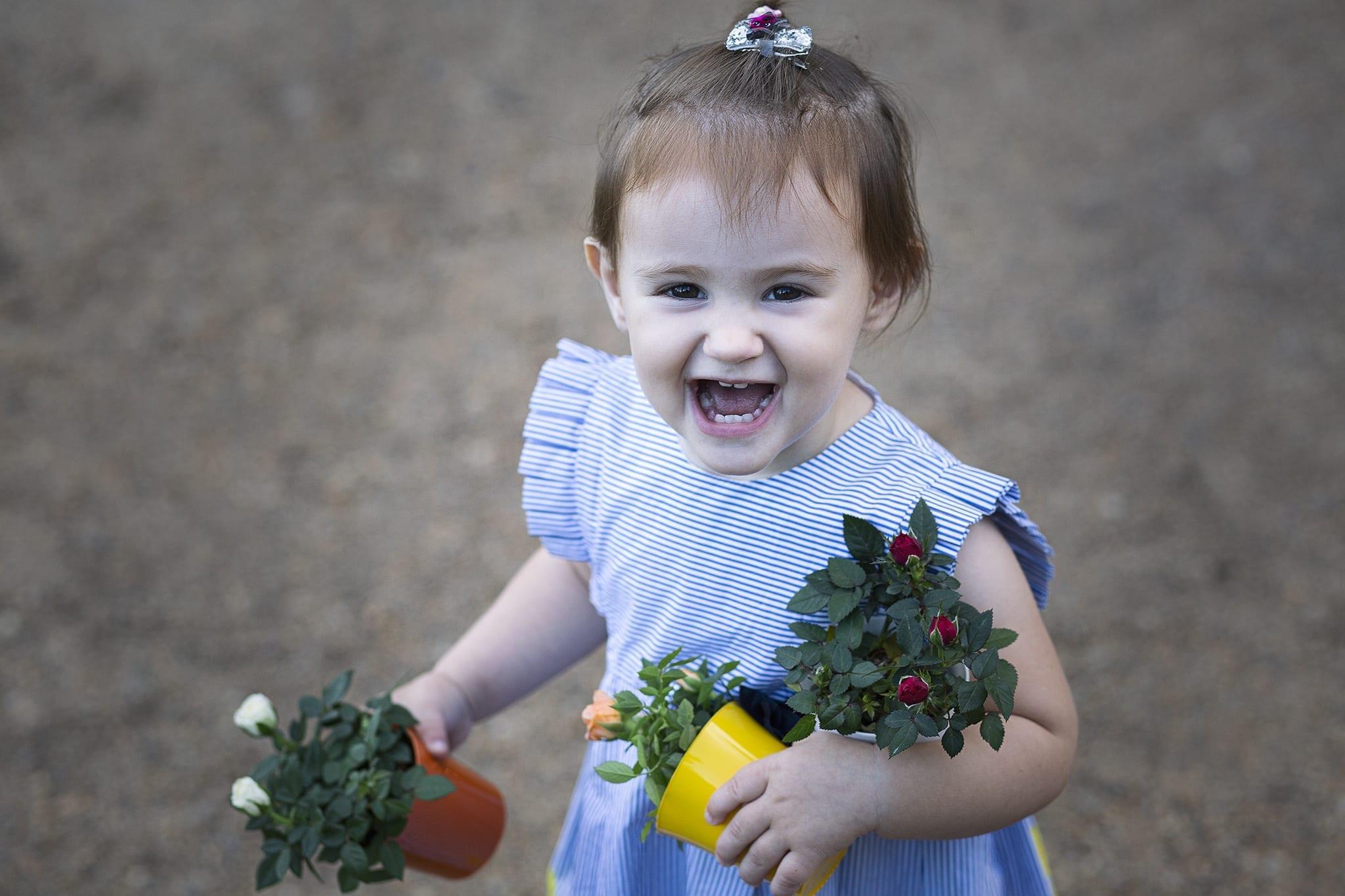 Virágos fotózás Emilyvel