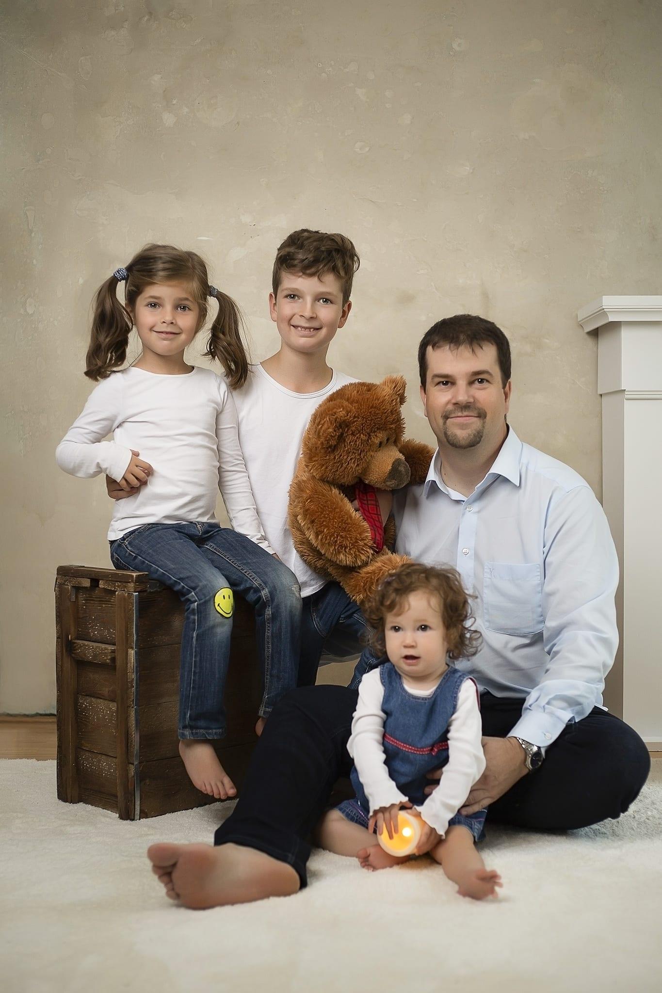 Kreatív családi fotózáson készült képek