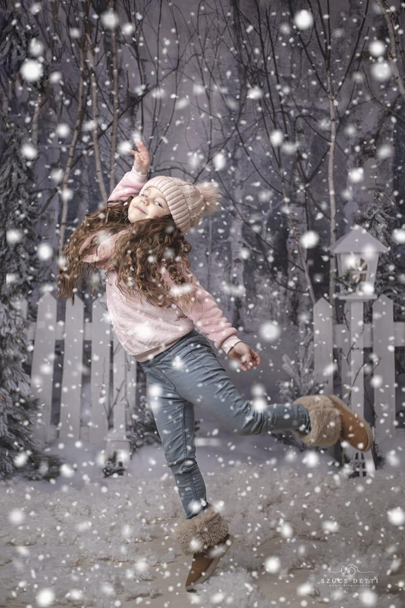 Beltéri havas akciós fotózás
